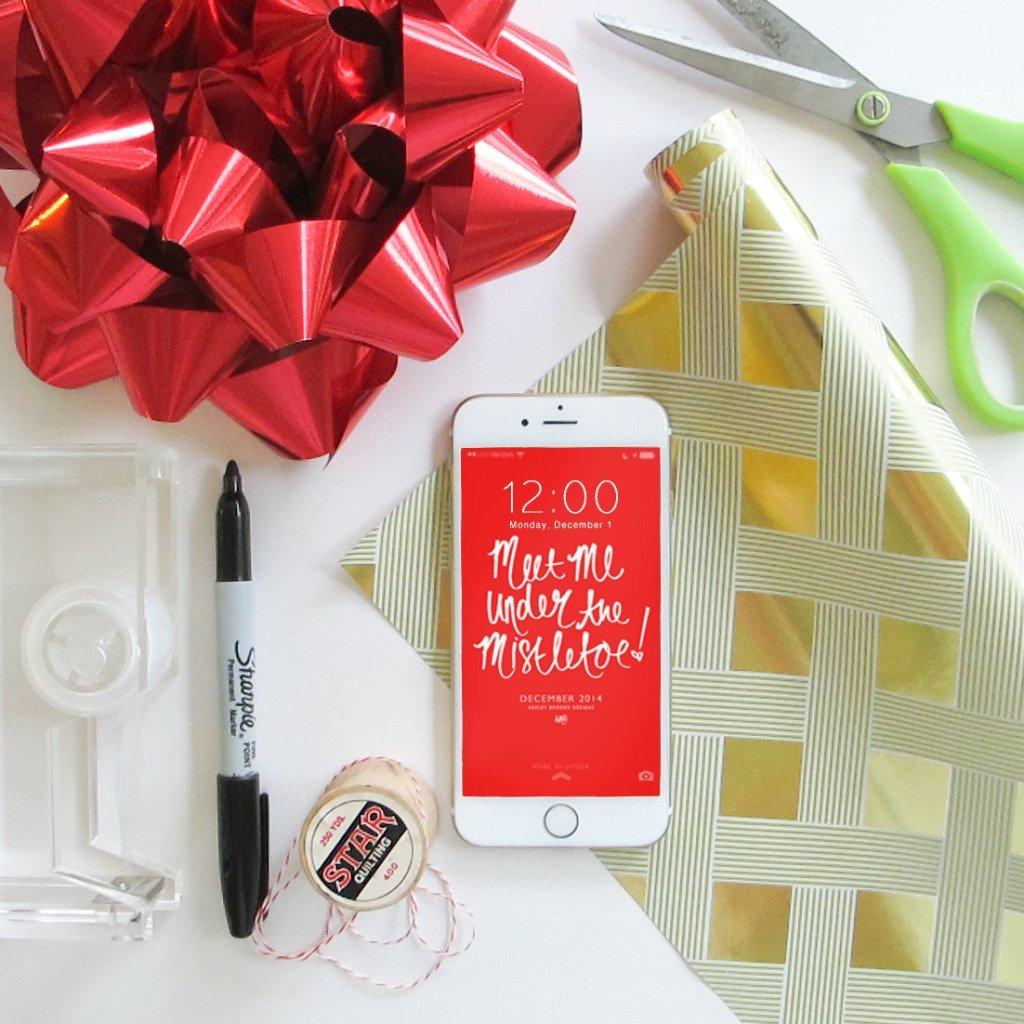 December Download Styled Image via Ashley Brooke Designs