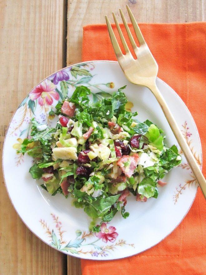 Kale Salad via Ashley Brooke Designs- Blog