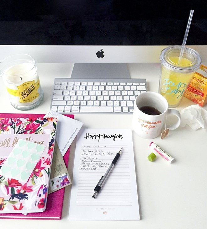 Good morning blog via Ashley Brooke Designs