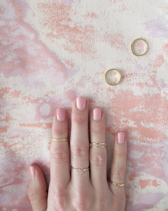 Kendra Scott Midi Rings via Ashley Brooke Designs