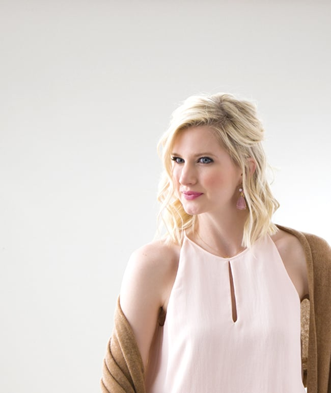 Blush Pink Parker Top via Ashley Brooke Designs 9