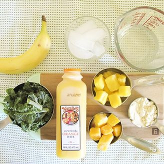 Lovely Finds: Natalie's OJ + My Favorite Go-To Green Smoothie Recipe