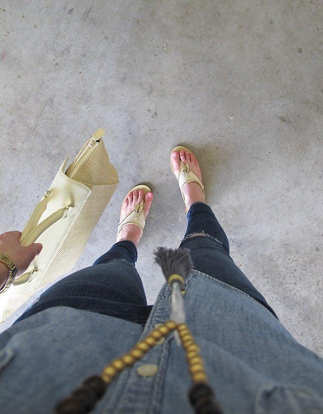 Fancy Friends: Jack Rogers Tassel Sandals