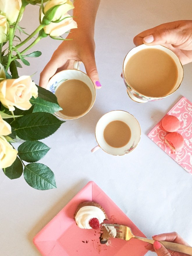 Tea Party Baby Shower via Ashley Brooke Designs- Blog