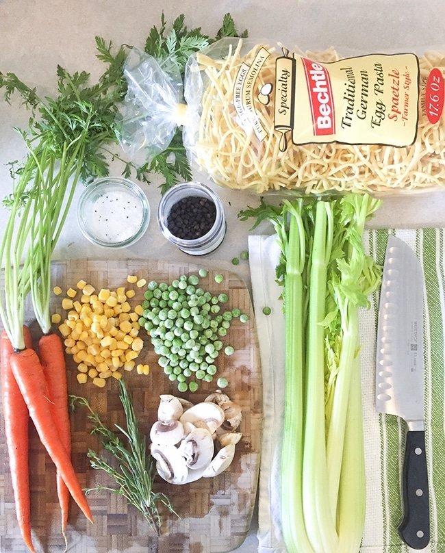 Ashley Brooke Designs - Easy Chicken Noodle Soup