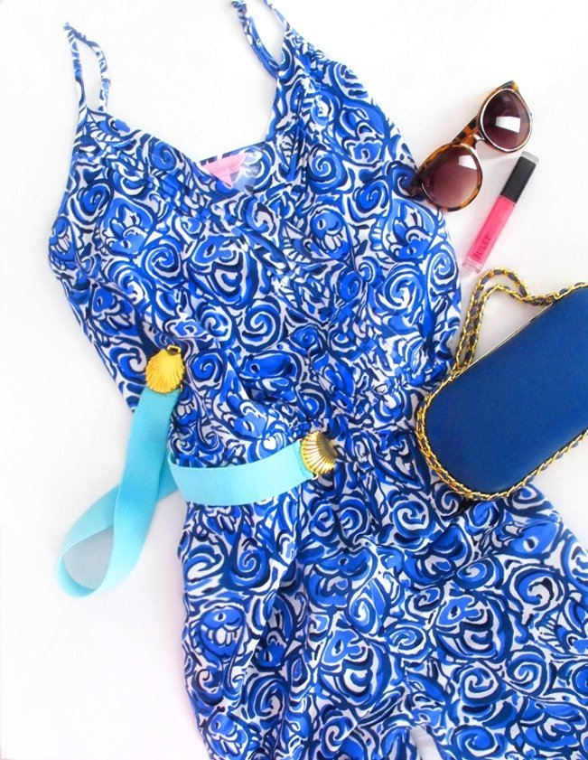 Ashley Brooke Designs - Lilly Pulitzer Jump Suit