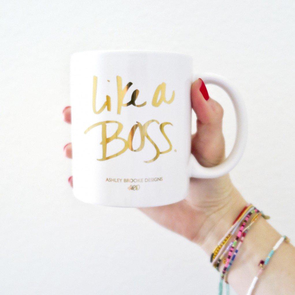 Ashley Brooke Designs - Like A Boss Mug