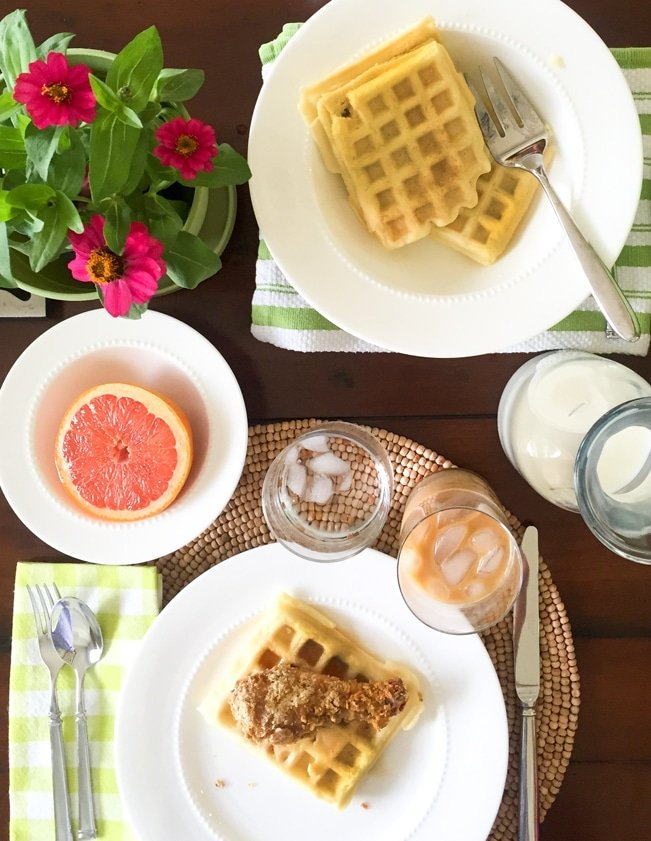 Ashley Brooke Designs - Gluten and Dary Free Chicken and Waffles