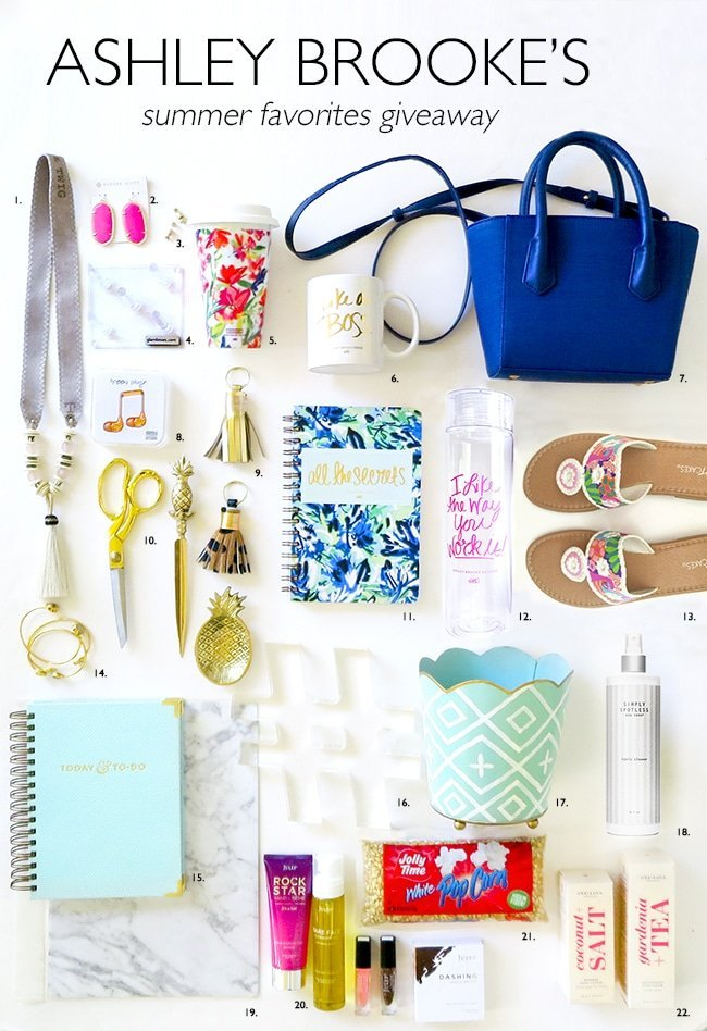Ashley Brooke Designs Summer Favorites Giveaway