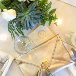 Ashley Brooke Designs -gold and white party