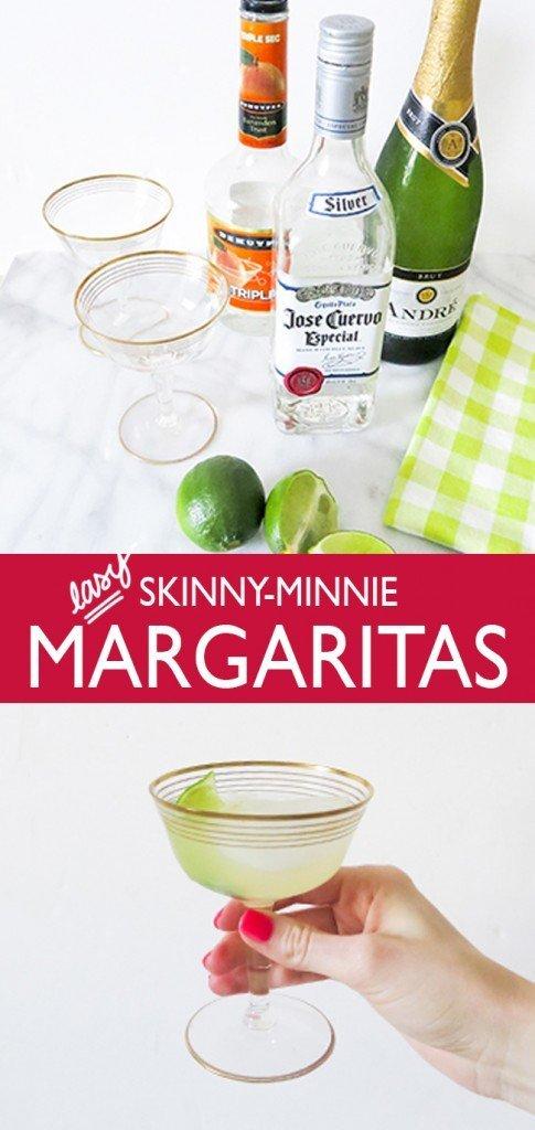 Easy Skinny-Minnie Margaritas - Ashley Brooke Designs