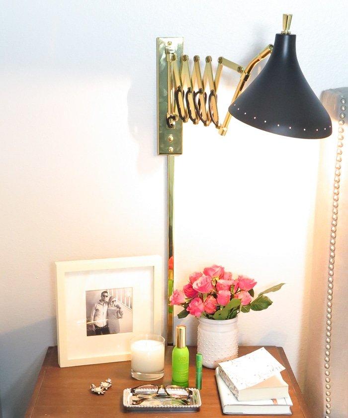 Night Stand Styling - Ashley Brooke Designs 2