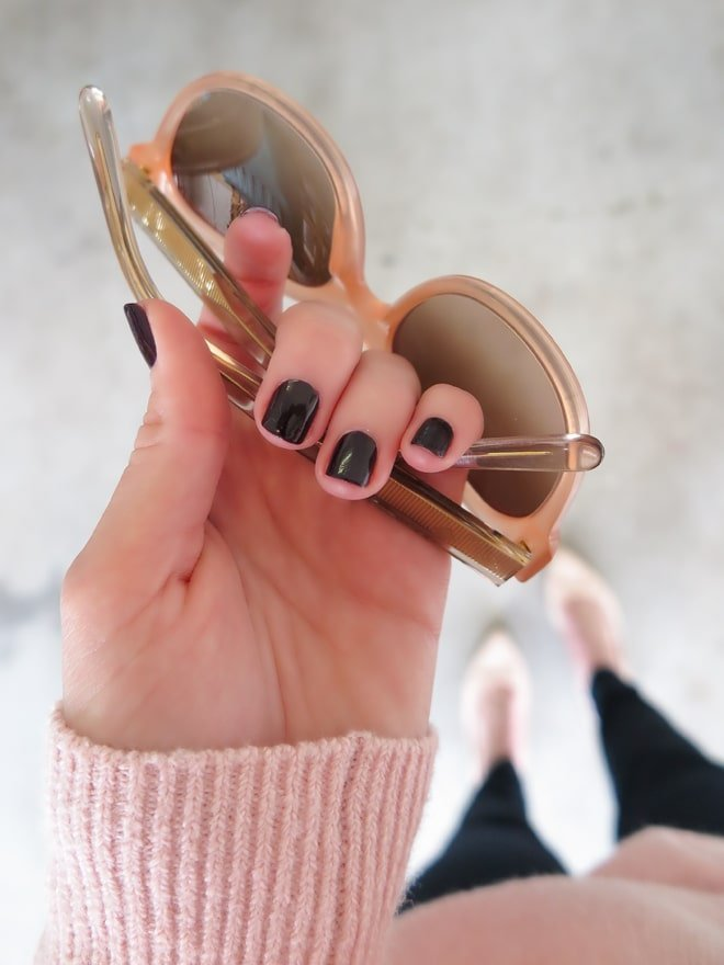 Fall Nails via Ashley Brooke Designs- Blog