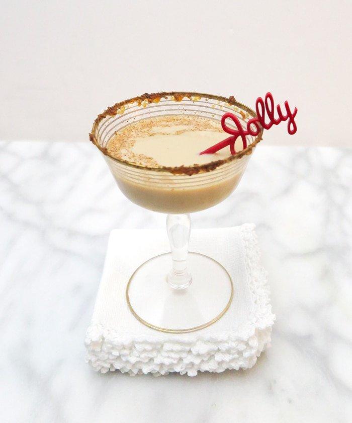 Ashley Brooke Designs for Jackson Morgan - Pumpkin spice Martini