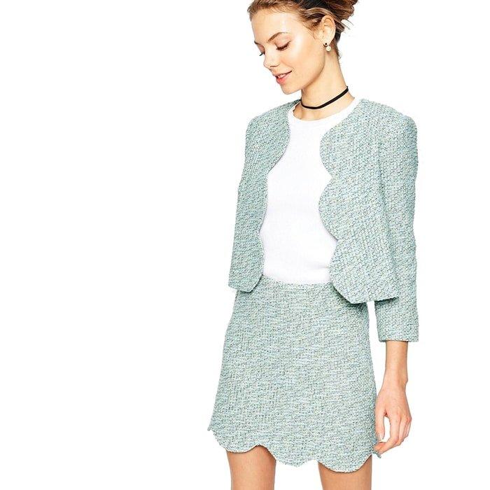 Ashley Brooke Designs - Scalloped Skirt + Jacket