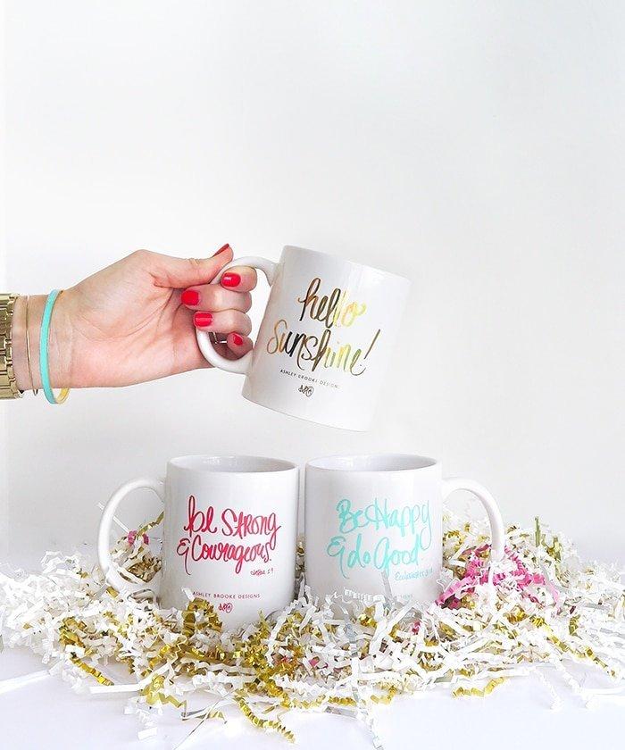 Ashley Brooke Designs 2 - Easter Basket Mugs