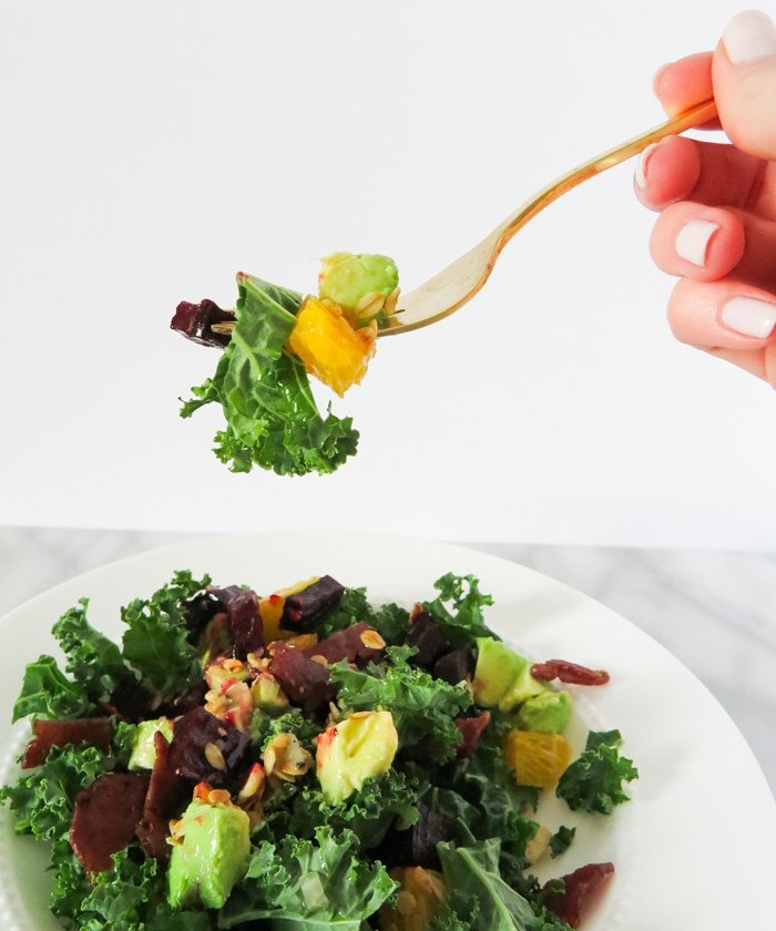 Ashley Brooke Designs - Power Kale Salad