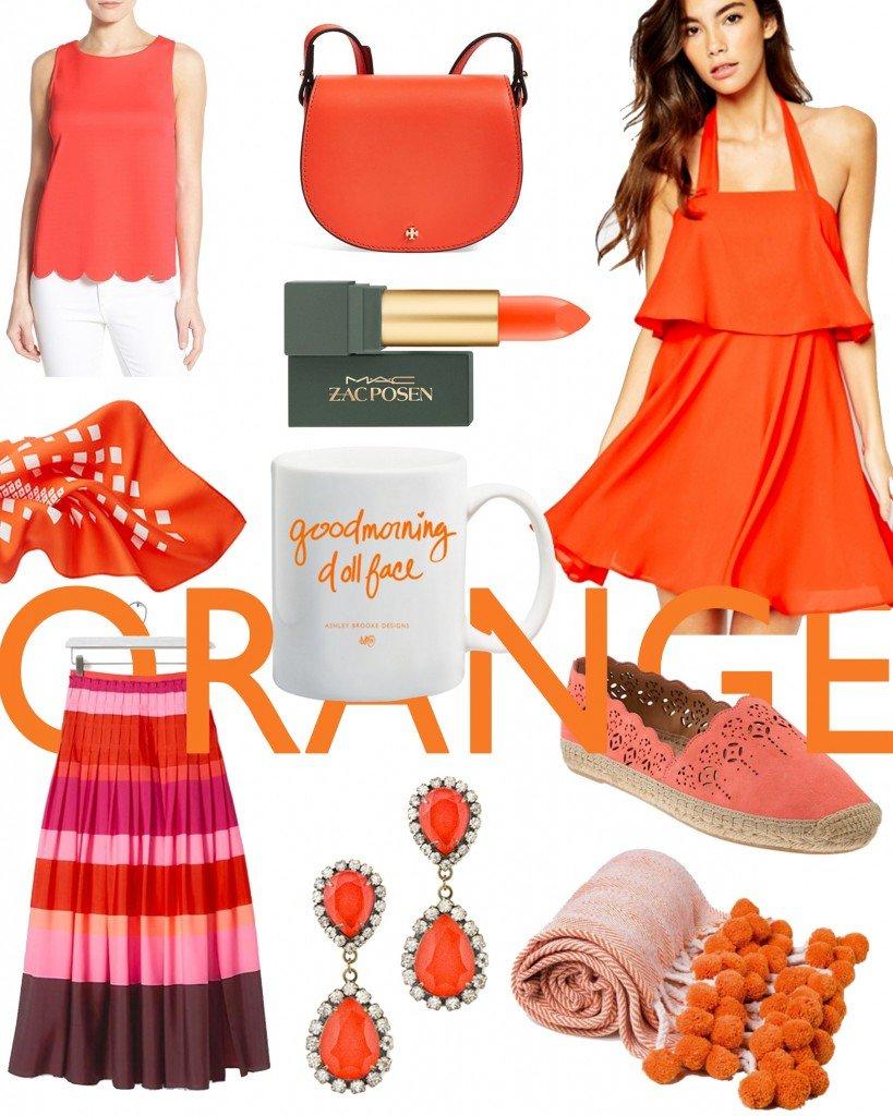 Ashley Brooke Designs - Color Crush - Orange
