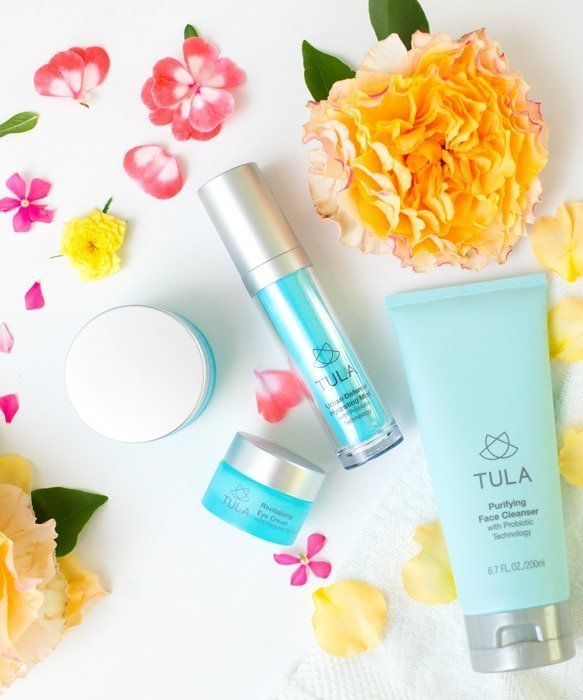 ABD Flowers and Tula Product Flatlay