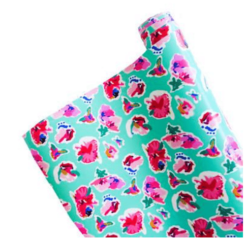 Floral Wrapping Paper by Ashley Brooke Designs