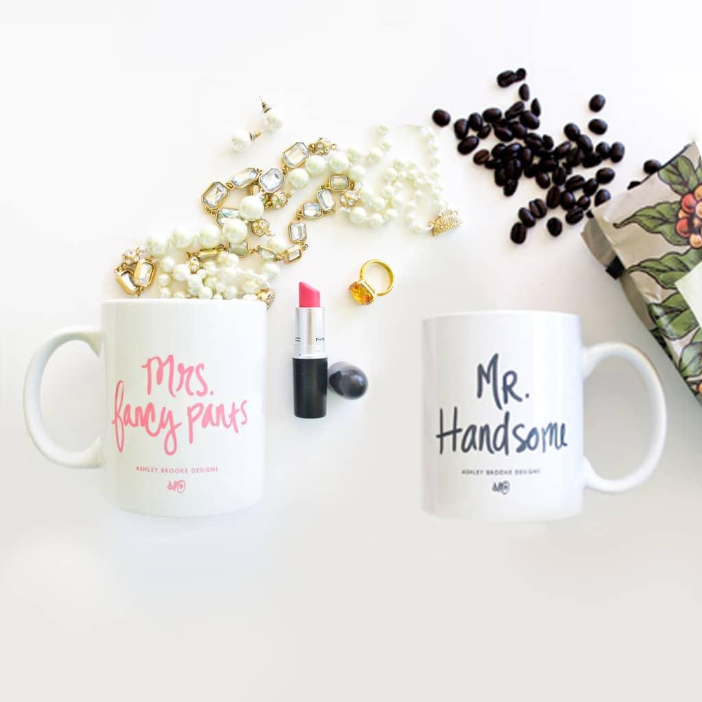 Mr and Mrs Mug Gift Set