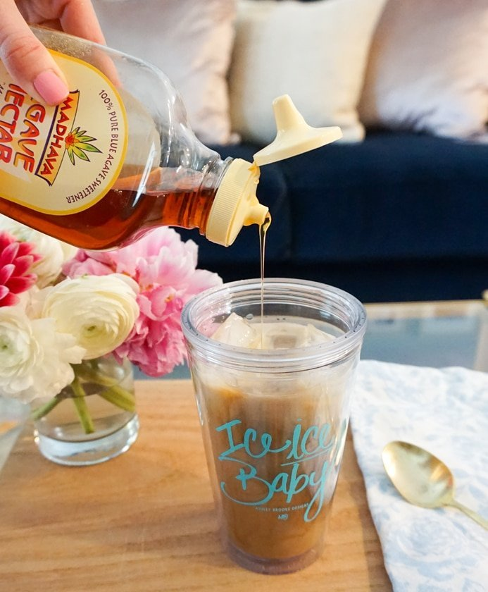 Ashley Brooke Designs - At Home Vanilla Iced Coffee4