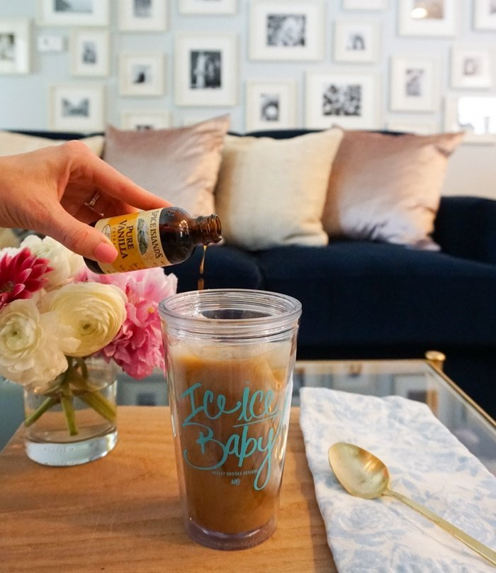 Ashley Brooke Designs - At Home Vanilla Iced Coffee5