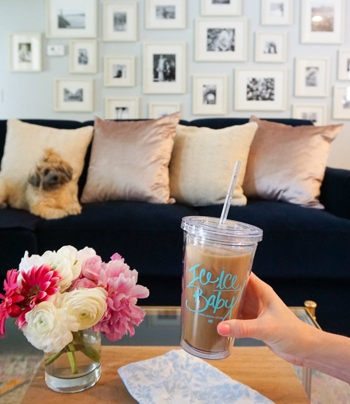 Ashley Brooke Designs - At Home Vanilla Iced Coffee7