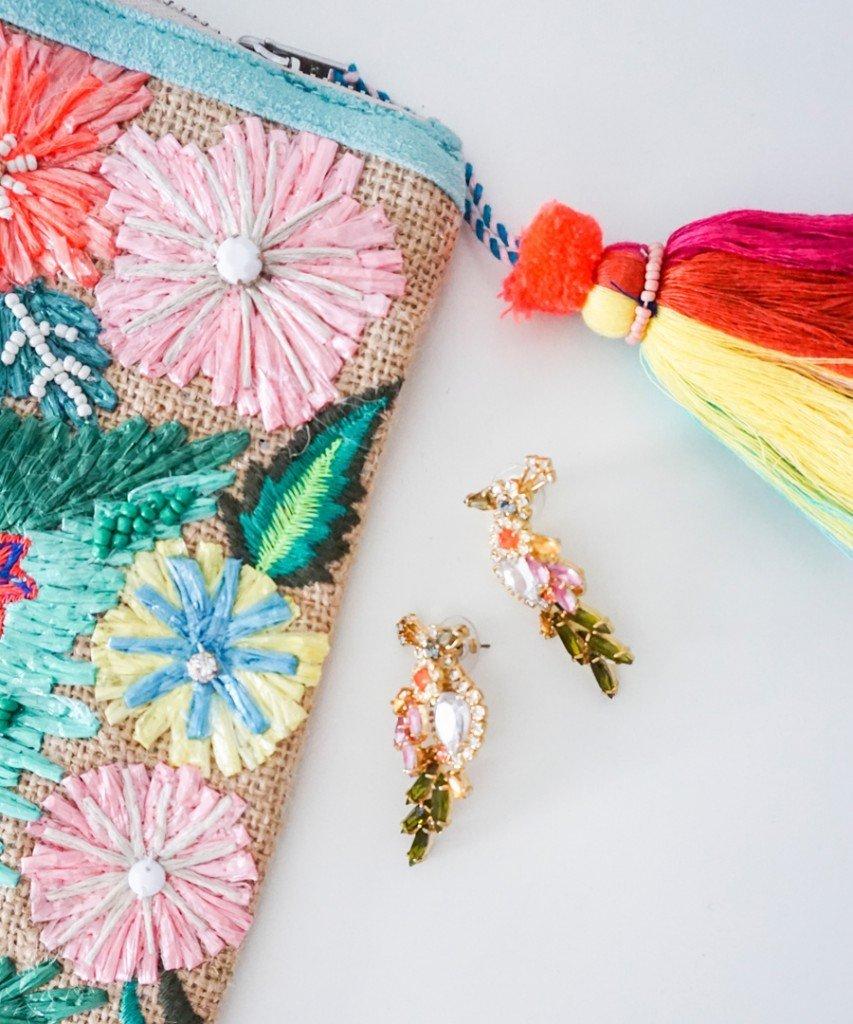 Ashley Brooke Designs - Bird Earrings from Ann Taylor