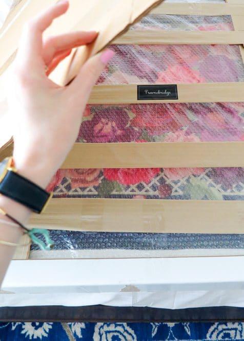Framed Hermes Scarf - Ashley Brooke Designs