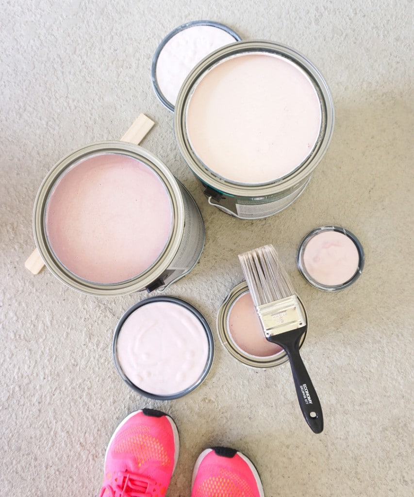 Ashley Brooke Designs - Paints for Pink Dining Room
