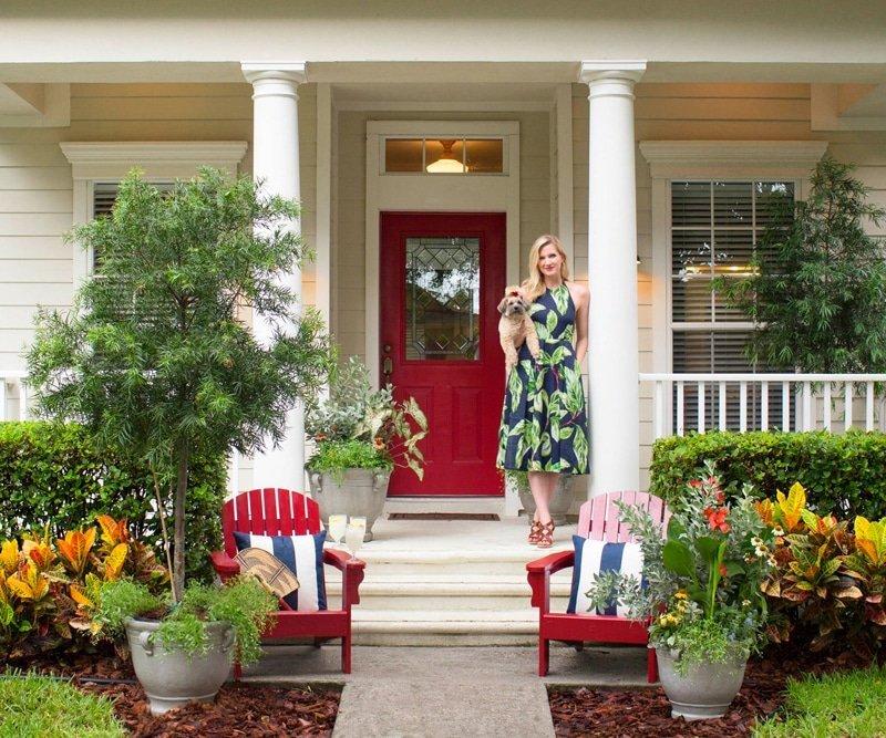 Front Door Step Ideas: Front Door Makeover In 3 Steps