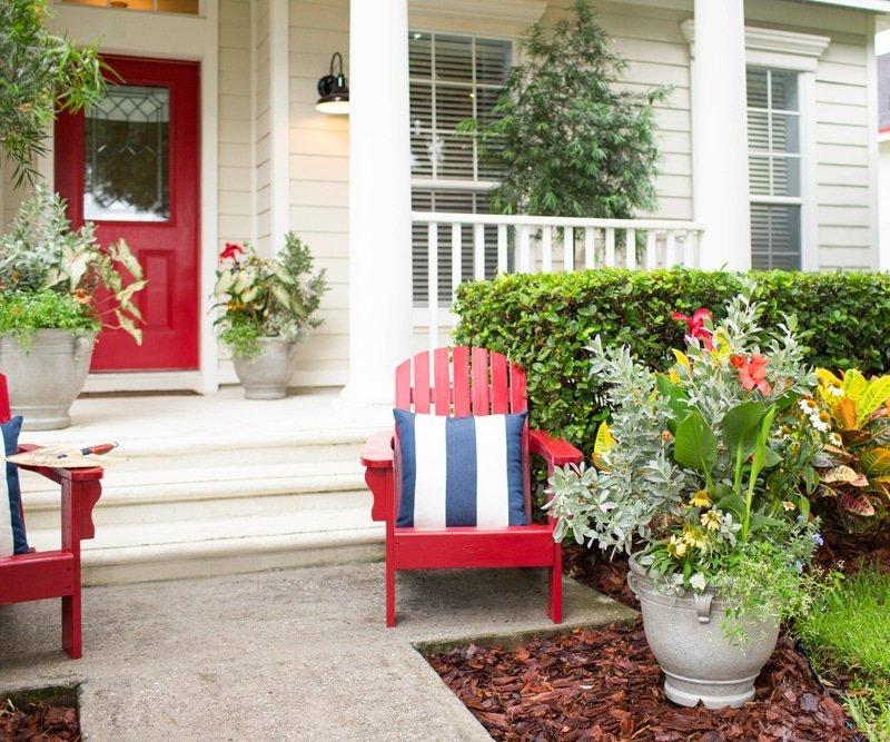 15 Spectacular Front Door Design Ideas And Tips For: Front Door Makeover In 3 Steps