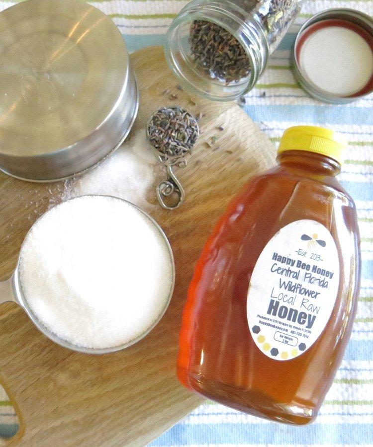 Lavender Honey Ingredients