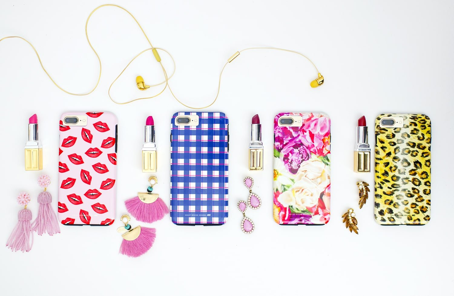 Ashley Brooke Designs Hand Illustrated Spring Phone Cases | ashleybrookedesigns.com