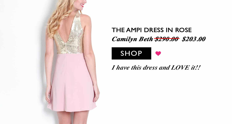 Camilyn Beth Ampi Dress | www.ashleybrookedesigns.com