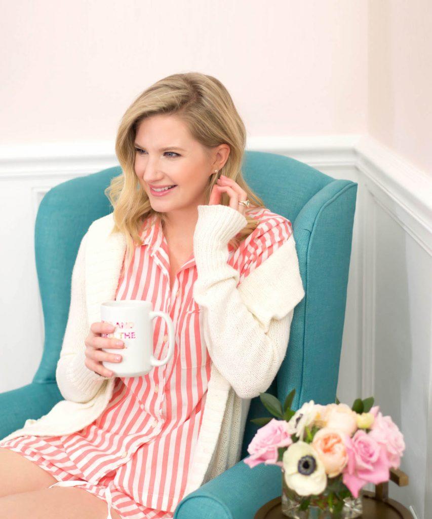 Blogger Ashley Brooke's Favorite Cozy Pajamas | www.ashleybrookedesigns.com