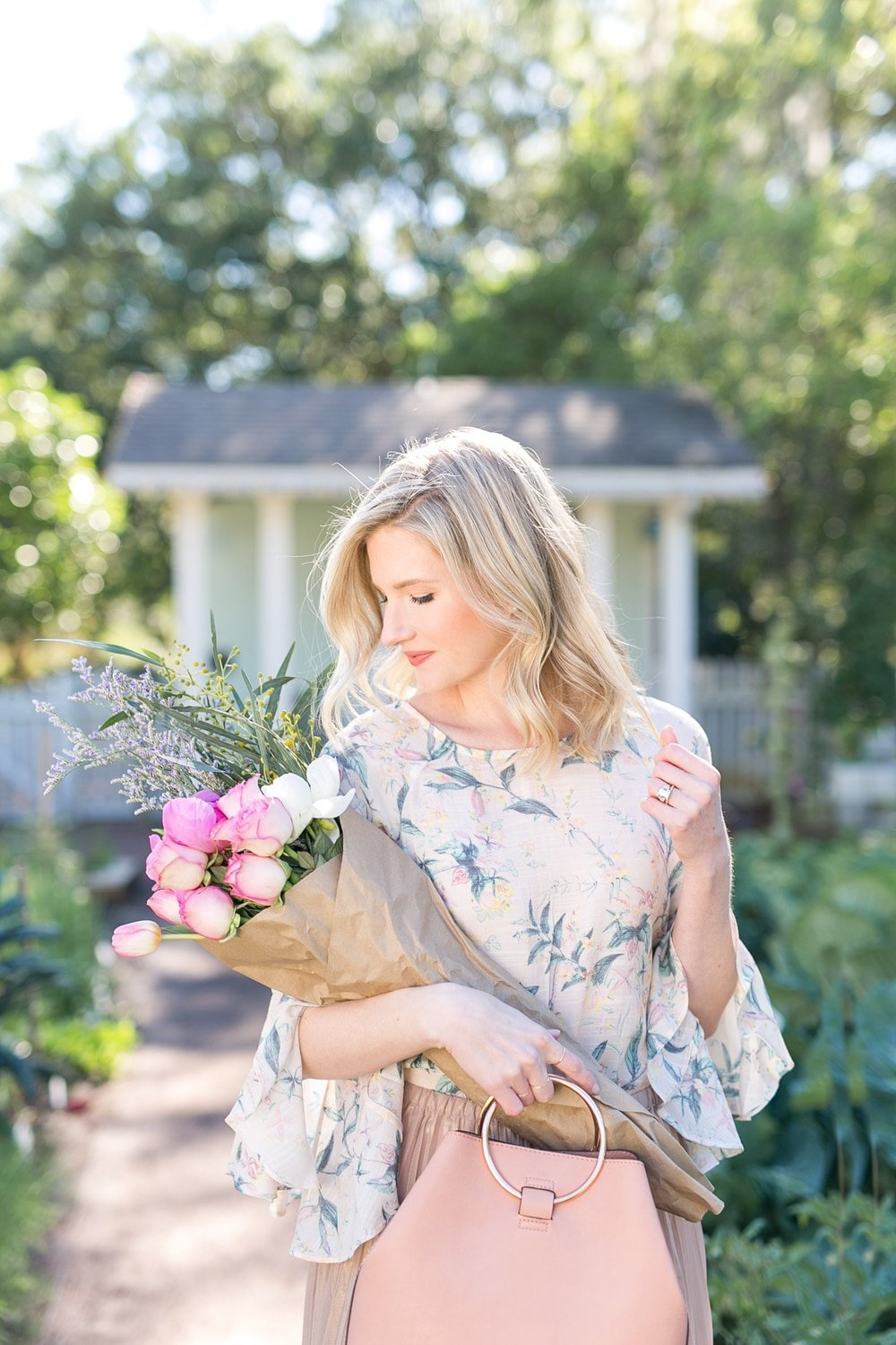 Blogger Ashley Brooke shares her favorite LC Lauren Conrad spring pieces. | www.ashleybrookedesigns.com