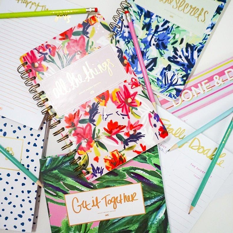 Ashley Brooke Designs Notepads and Notebooks | www.ashleybrookedesigns.com