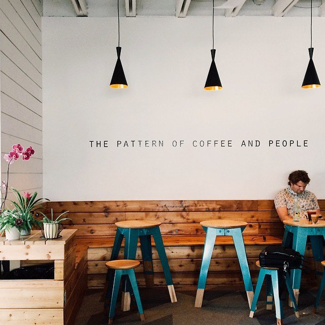 Blogger Ashley Brooke shares the coffee shops she would love to visit.   www.ashleybrookedesigns.com