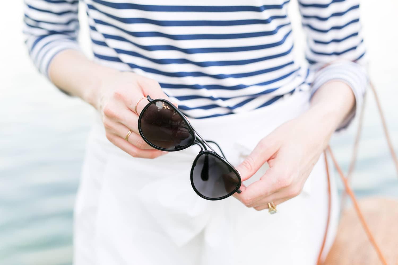 "Maui Jim's ""Aviator"" sunglasses | www.ashleybrookedesigns.com"