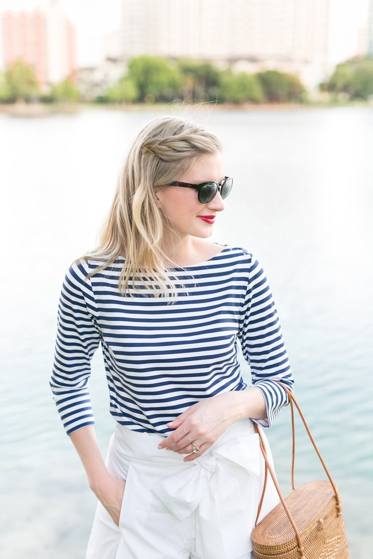 "Blogger Ashley Brooke wears ""Mirrored"" sunglasses by Maui Jim's! | www.ashleybrookedesigns.com"