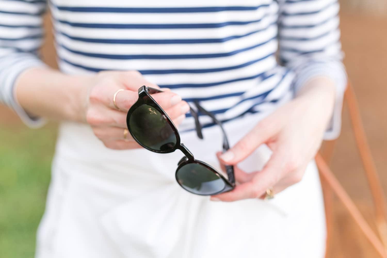 "Maui Jim's ""Mirrored"" sunglasses | www.ashleybrookedesigns.com"