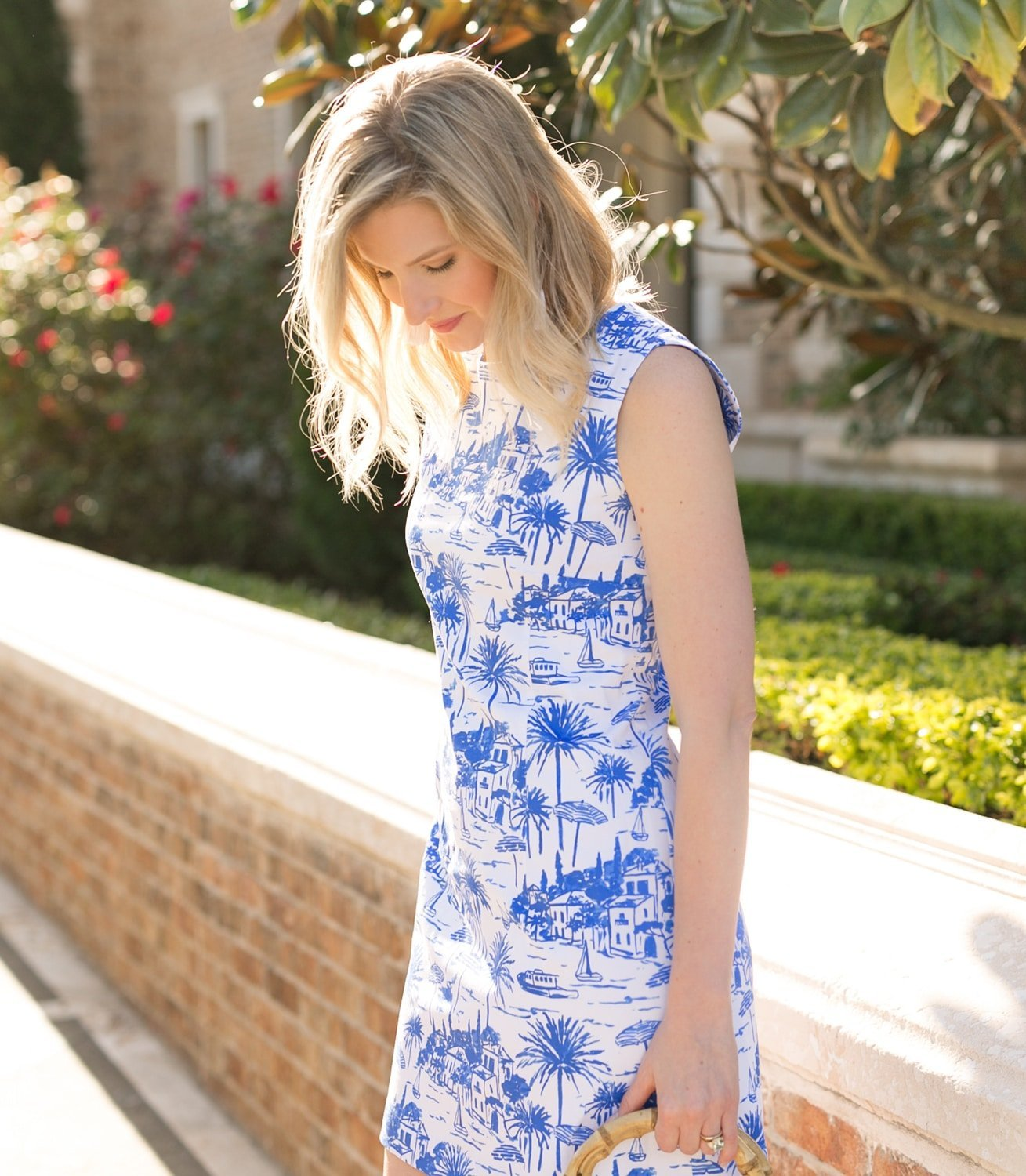 The best dress to wear as a wedding guest is Persifor's newest shift dress! | www.ashleybrookedesigns.com