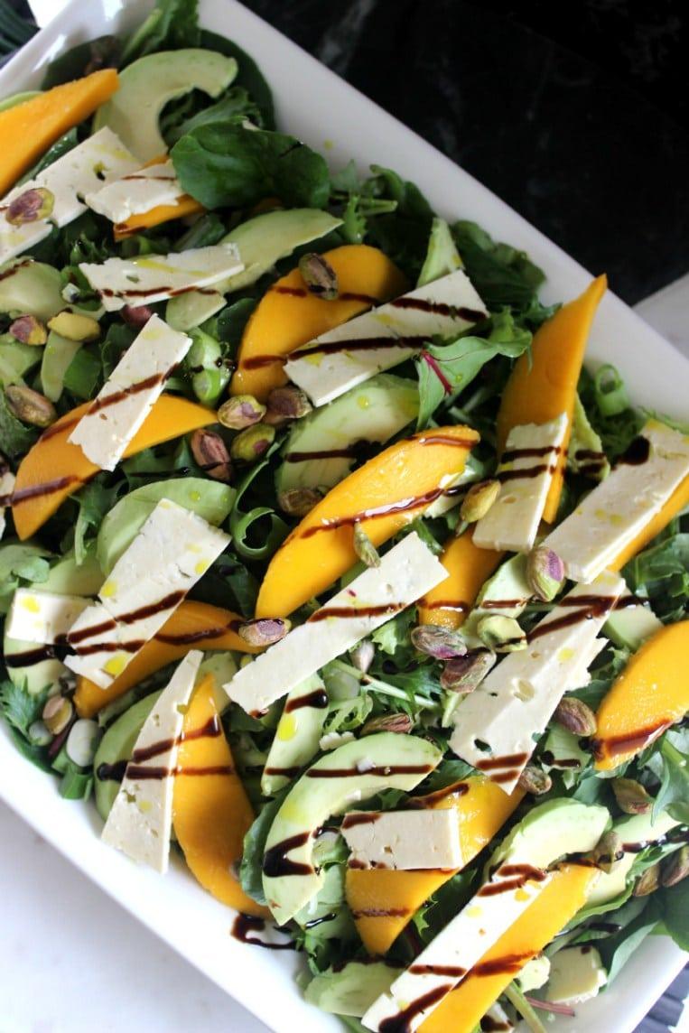Blogger Ashley Brooke shares her favorite summer salad recipes! | www.ashleybrookedesigns.com