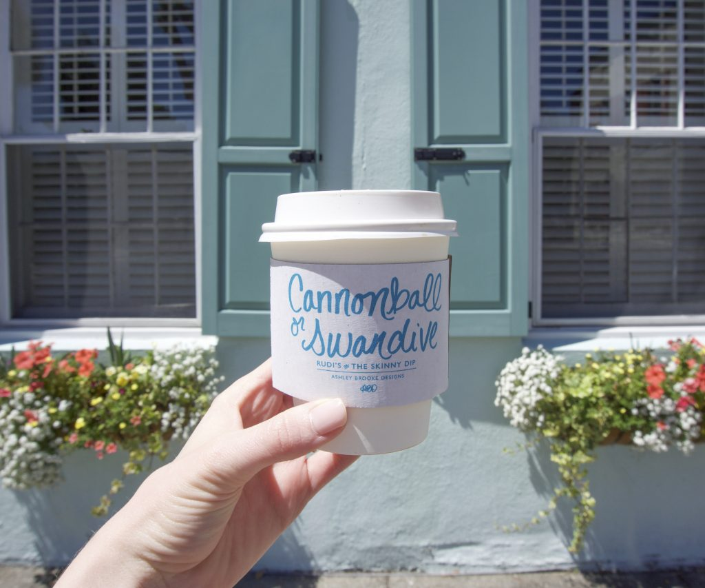 The best coffee shops in Charleston! | www.ashleybrookedesigns.com