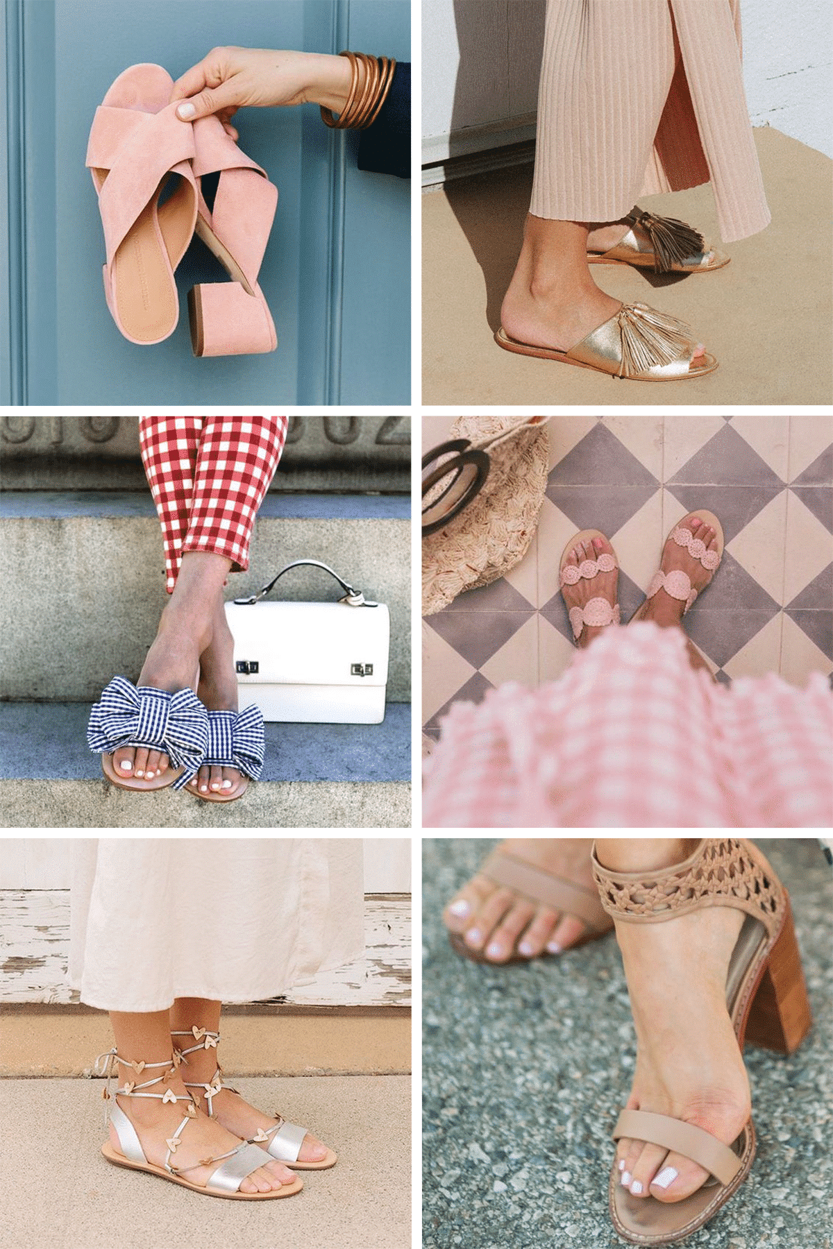 Blogger Ashley Brooke shares her top three summer sandals and the nail polish colors to pair with them! | www.ashleybrookedesigns.com