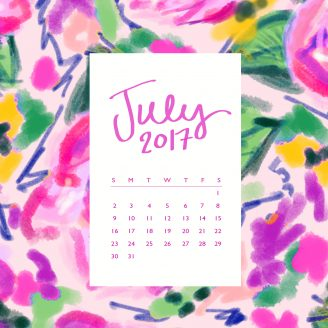 FREE DOWNLOAD + HELLO, July!
