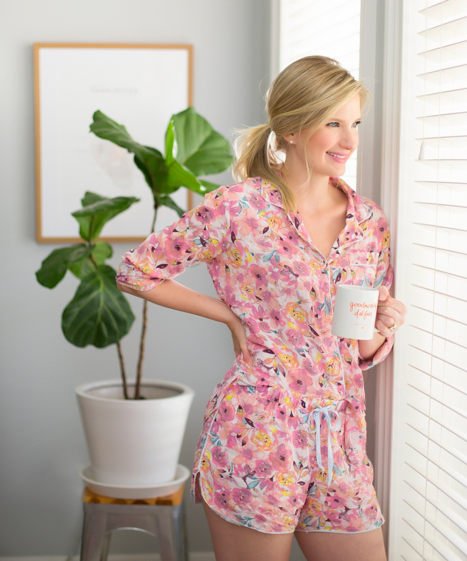 Blogger Ashley Brooke found the best pair of pajamas from Target! | www.ashleybrookedesigns.com