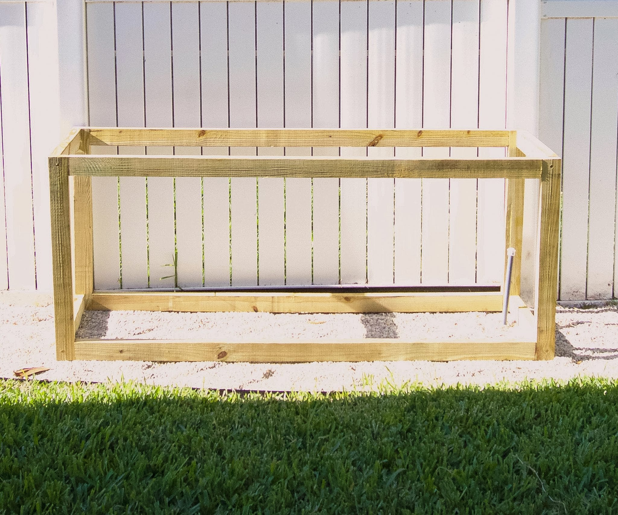 ryan chambers shares how to build a diy backyard cedar planter